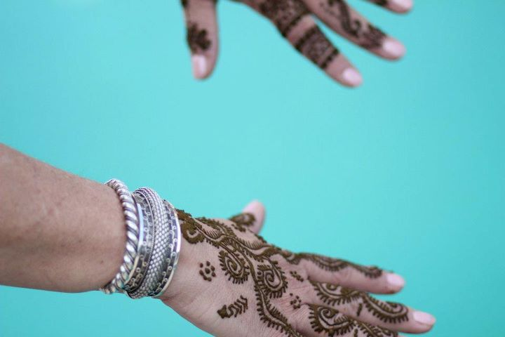 Hennaed Hands by Andrea Kuhn